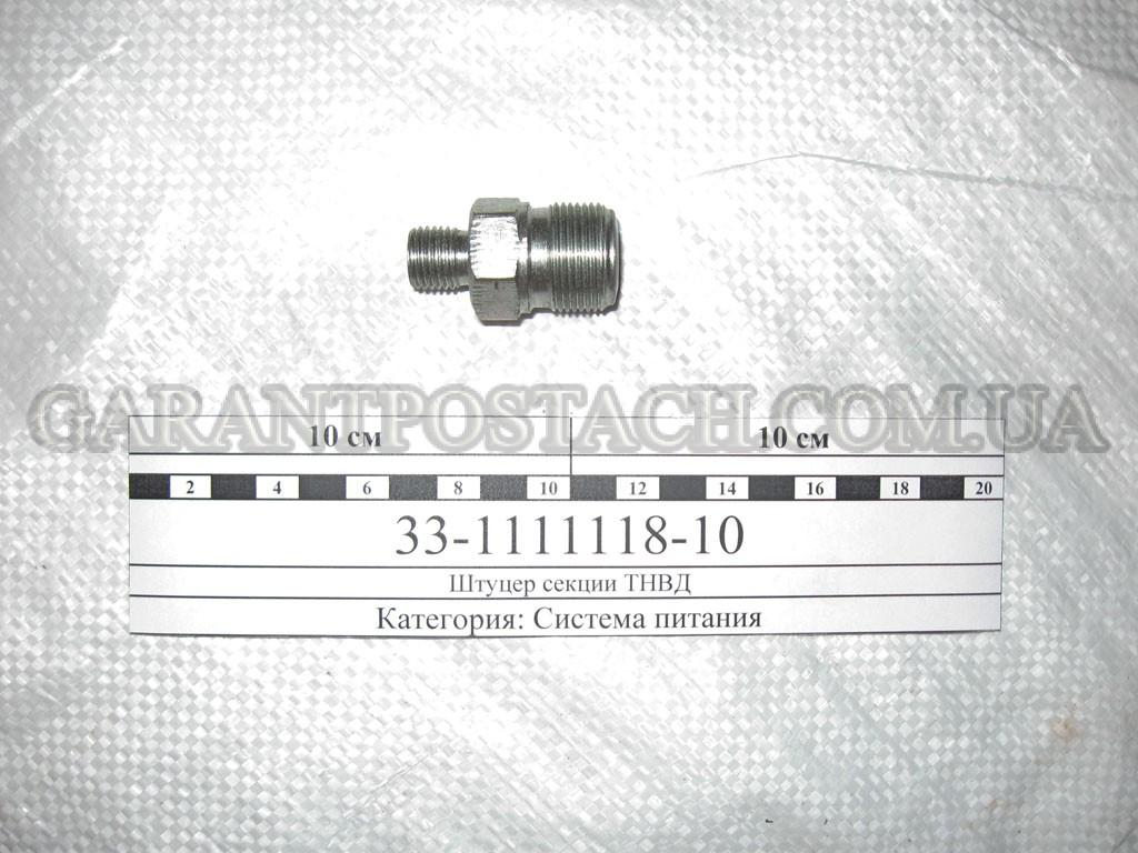 Штуцер секции ТНВД КамАЗ 33.1111118-10