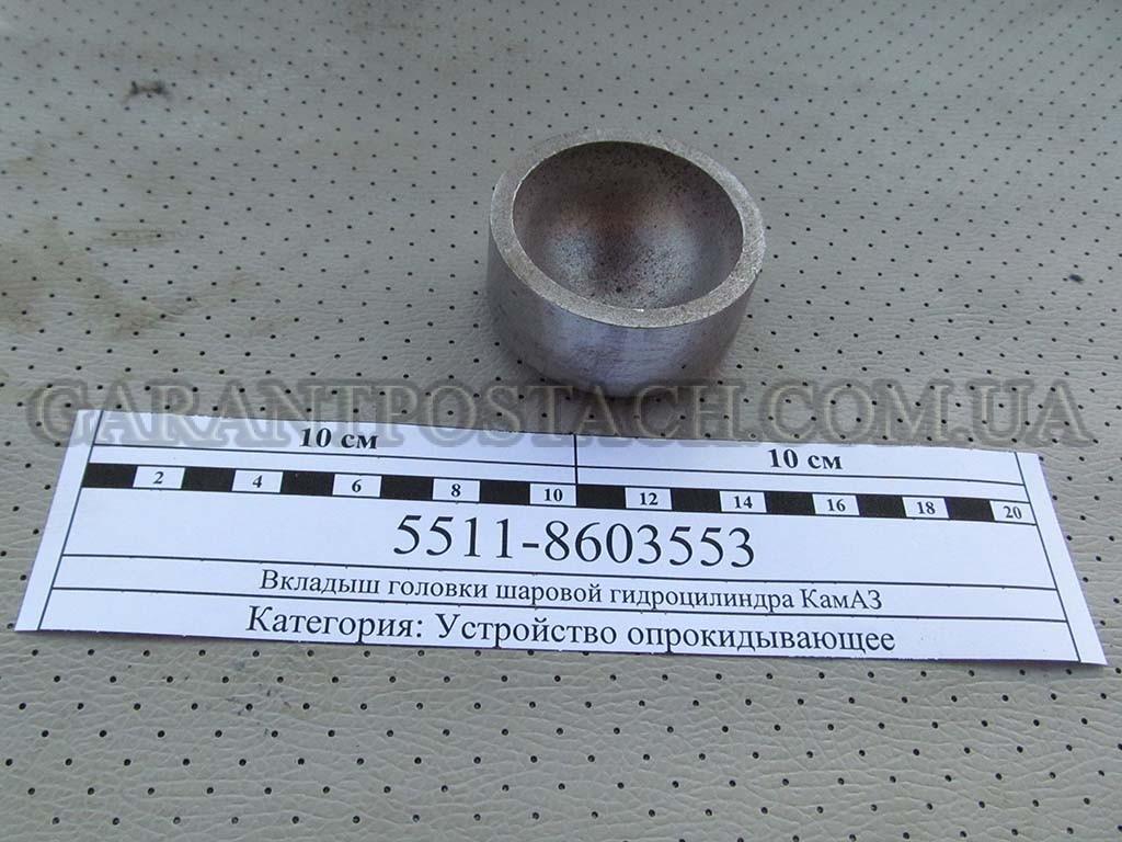 Вкладыш головки шаровой гидроцилиндра КамАЗ (Россия)