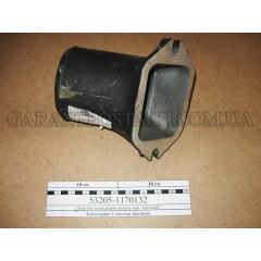 Патрубок подводящий интеркулера КамАЗ (короткий)