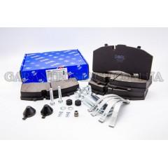 Колодки тормозные дисковые BPW, SAF, SCHMITZ, KNORR, SB4309T (SK7) (SORL)