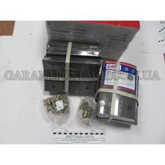 Накладка тормозная, к-т 8шт+заклепки 64шт 300x200 STD SAF (SORL)