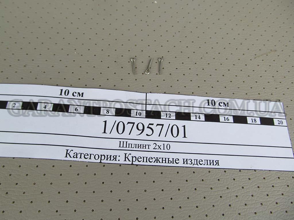 Шплинт 2х10 КамАЗ (Россия) 1/07957/01