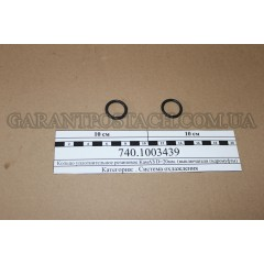 Кольцо уплотнительное резиновое КамАЗ D=20мм. (выключателя гидромуфты) (Россия)