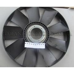 Крыльчатка вентилятора КамАЗ 704мм., с обечайкой, выгнутым диском , под эл.муфту (Технотрон)